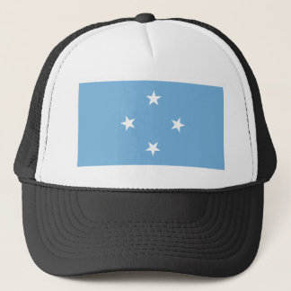 Flagge der Federated States of Micronesia Truckerkappe