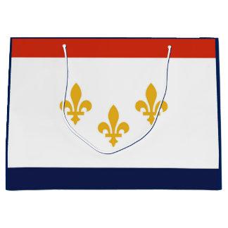 Flagge der New- Orleansgeschenk-Tasche Große Geschenktüte