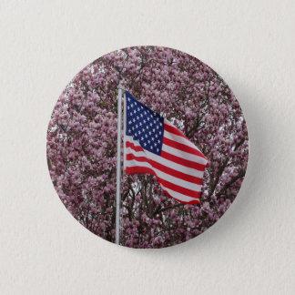 Flagge der Schönheit Runder Button 5,1 Cm