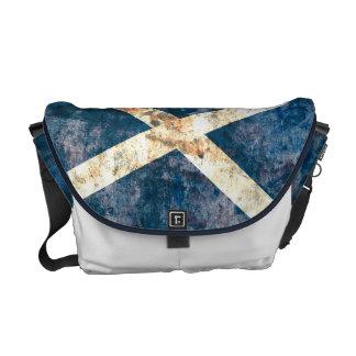 Flagge der Schottland-Rickshaw-Bote-Tasche Kurier Taschen