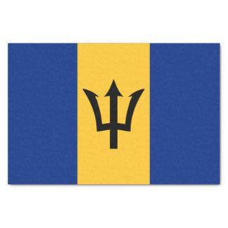 Flagge des Barbados-Seidenpapiers Seidenpapier