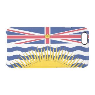 Flagge des Britisch-Columbia klären iPhone Fall Durchsichtige iPhone 6/6S Hülle