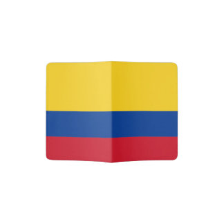 Flagge des Kolumbien-Pass-Halters Passhülle