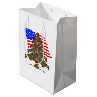 Flagge des mittlere geschenktüte
