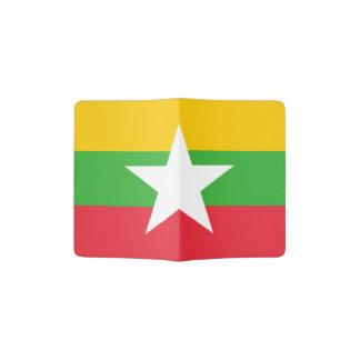 Flagge des Myanmar-Pass-Halters Passhülle