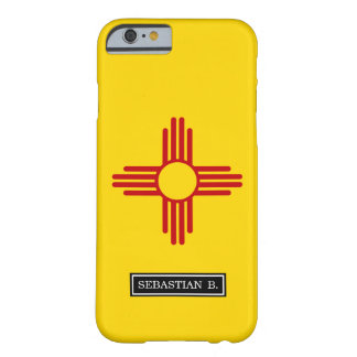 Flagge des New Mexiko Barely There iPhone 6 Hülle