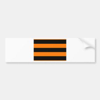 Flagge des St- Georgebandes - Георгиевскаялента Autoaufkleber