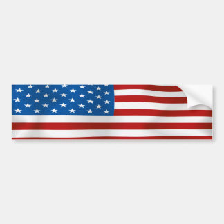 Flagge des USA Autoaufkleber