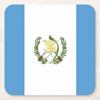Flagge: Guatemala Rechteckiger Pappuntersetzer