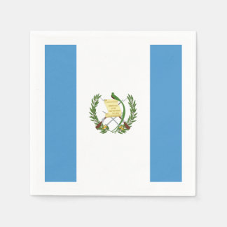 Flagge: Guatemala Serviette