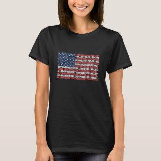 Flagge Hillary 2016 - der T - Shirt der Frau