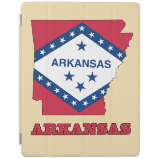 Flagge in der Karte von Arkansas iPad Hülle