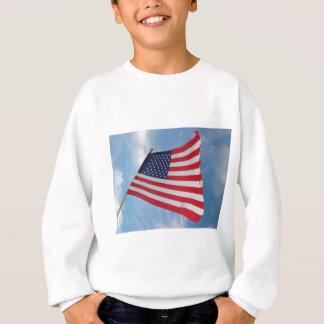 Flagge kennzeichnet sweatshirt