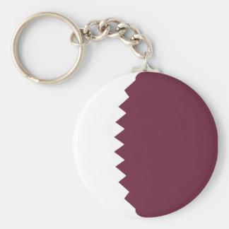 Flagge Keychain Qatars Fisheye Schlüsselanhänger