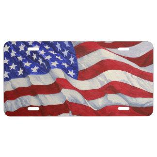 Flagge-Kfz-Kennzeichen US Nummernschild