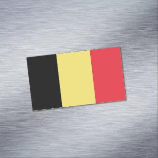 Flagge magnetischer Visitenkarten Belgiens Magnetische Visitenkarten
