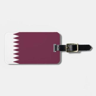 Flagge Qatar einfacher Identifikation persönlich Kofferanhänger