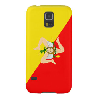 Flagge Siziliens (Italien) Samsung Galaxy S5 Cover