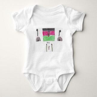 Flagge Thomas Kenia Baby Strampler