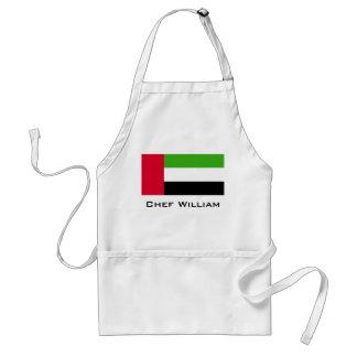 Flagge UAE Arabische Emirate Schürze