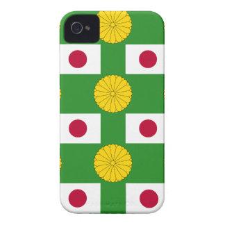 Flagge und KaiserSiegel von Japan Case-Mate iPhone 4 Hülle