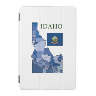 Flagge und Karte von Idaho iPad Mini Hülle