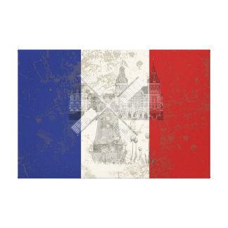 Flagge und Symbole der Niederlande ID151 Leinwanddruck