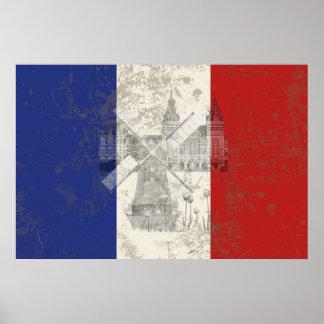 Flagge und Symbole der Niederlande ID151 Poster