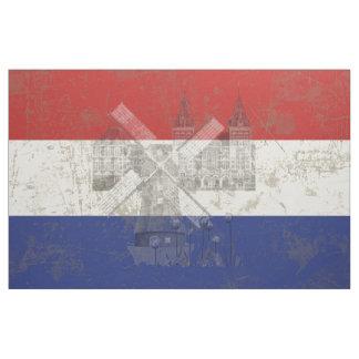 Flagge und Symbole der Niederlande V2 ID151 Stoff