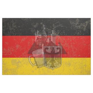 Flagge und Symbole von Deutschland ID152 Stoff