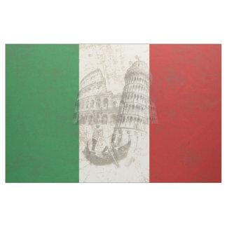 Flagge und Symbole von Italien ID157 Stoff