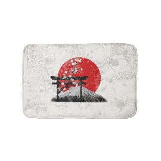 Flagge und Symbole von Japan ID153 Badematte