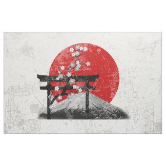 Flagge und Symbole von Japan ID153 Stoff