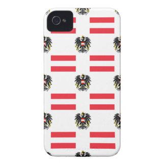 Flagge und Wappen von Österreich Case-Mate iPhone 4 Hülle