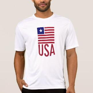 Flagge USA T-Shirt