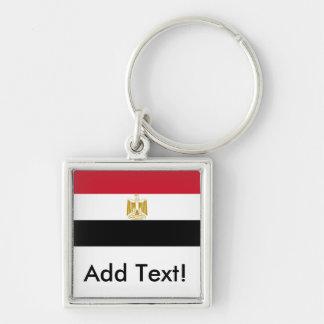 Flagge von Ägypten Schlüsselanhänger