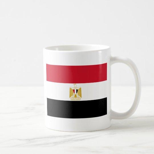 Flagge von Ägypten Tasse