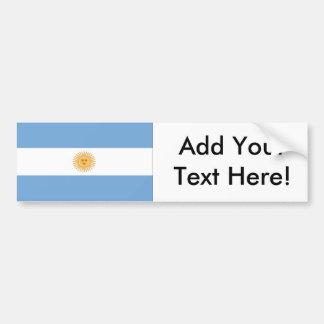 Flagge von Argentinien Autoaufkleber