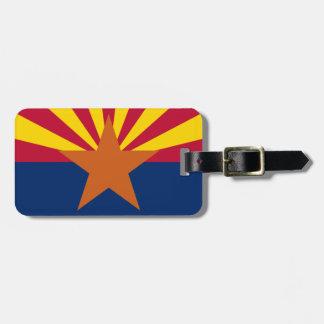 Flagge von Arizona Kofferanhänger