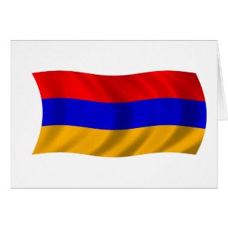 Flagge von Armenien Karte
