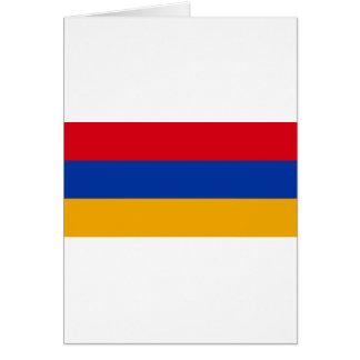 Flagge von Armenien - Yeraguyn Karte