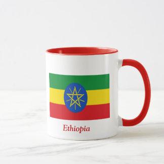 Flagge von Äthiopien Tasse