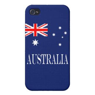 Flagge von Australien Hülle Fürs iPhone 4