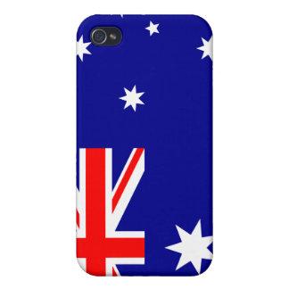 Flagge von Australien iPhone 4 Hülle