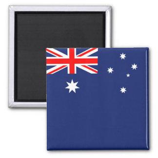 Flagge von Australien Quadratischer Magnet