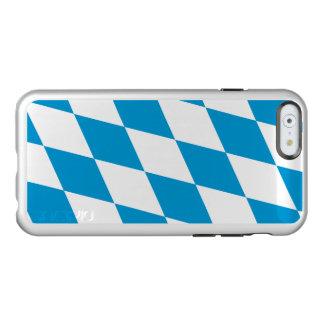 Flagge von Bayern-Silber iPhone Fall Incipio Feather® Shine iPhone 6 Hülle