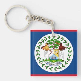 Flagge von Belize Schlüsselanhänger