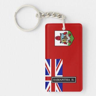 Flagge von Bermuda Schlüsselanhänger