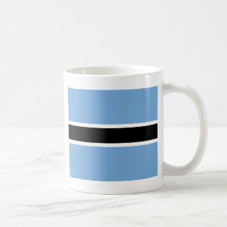Flagge von Botswana Kaffeetasse