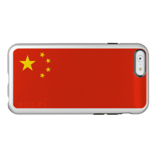 Flagge von China-Silber iPhone Fall Incipio Feather® Shine iPhone 6 Hülle